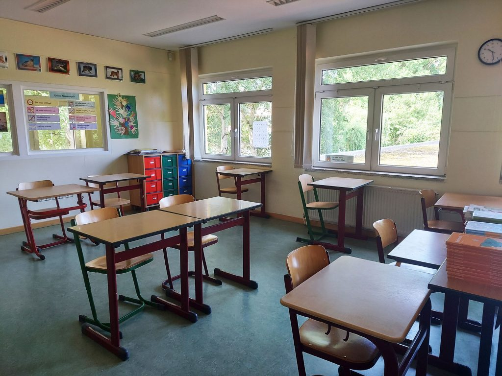 Margeriten-Schule Klassenraum